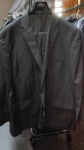 traje formal en talla grande en panama